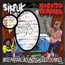 Image of SIKFUK/DEMENTED RETARDED-SPLIT CD-