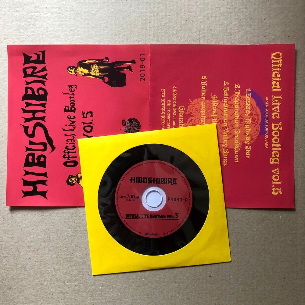HIBUSHIBIRE 'Official Bootleg Vol 5' Japanese CD