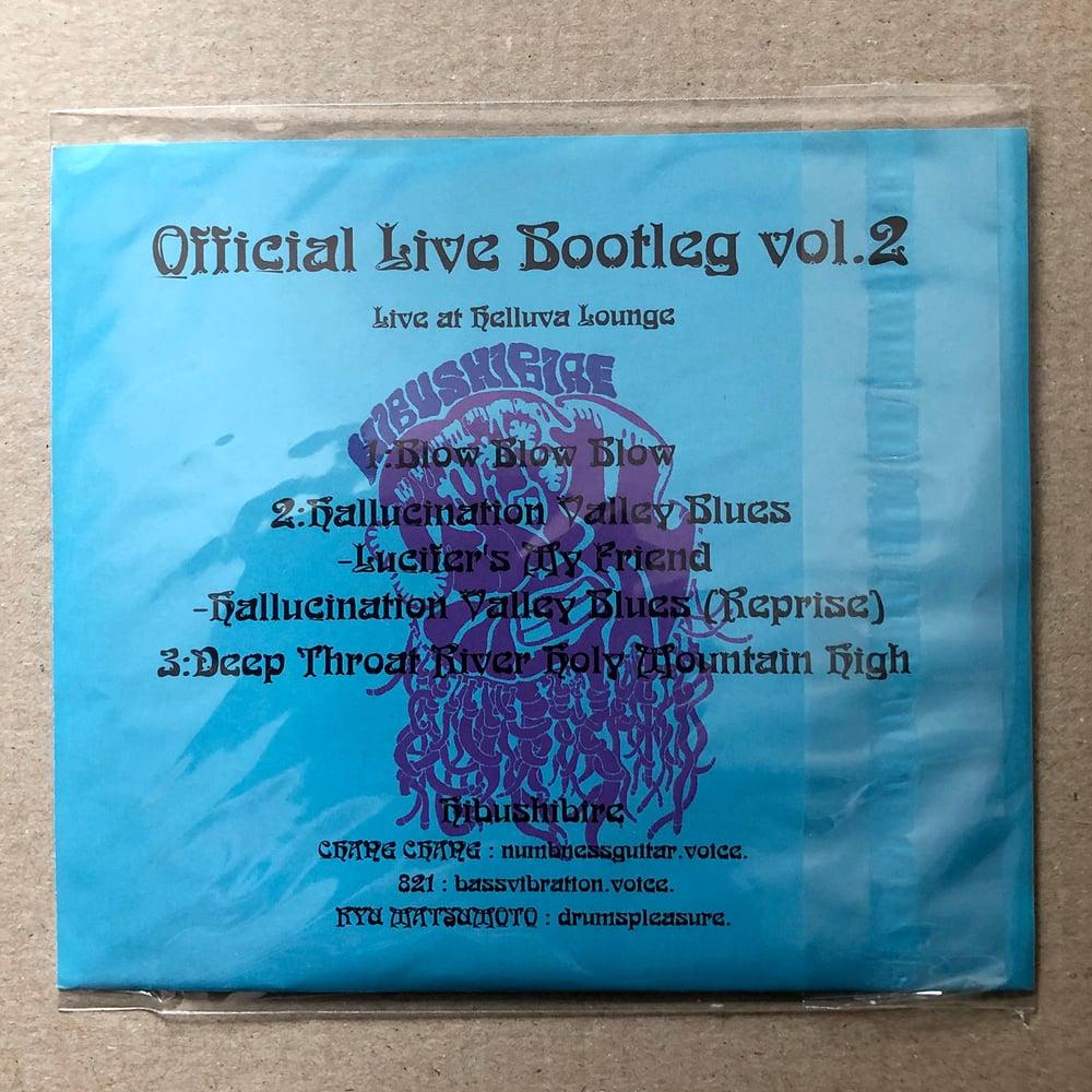 HIBUSHIBIRE 'Official Bootleg Vol 2' Japanese CD