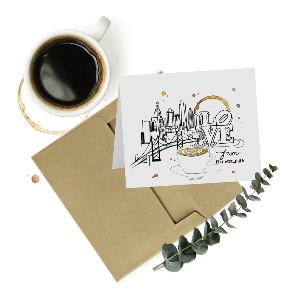 Image of Philly LOVE - Greeting Card