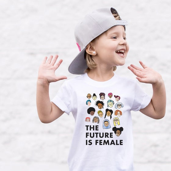 Image of The Future is Female Toddler's Tee