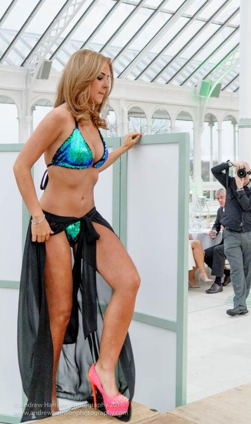 Image of Jacksons Fashion - Mermaid Sequin Bikini : Blue / Green
