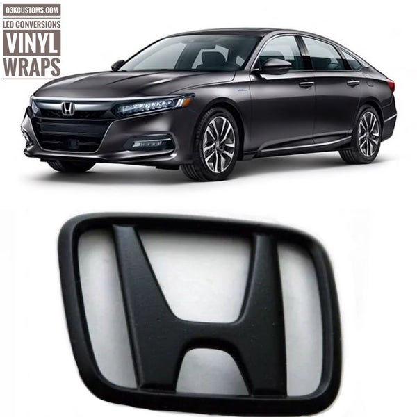 Image of Honda Accord 2018+ BLACKOUT Emblems