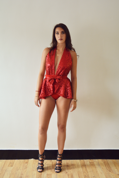 Image of Jacksons Fashion - Red Scouse Swimsuit