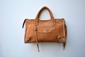 Image of Sac/Bag Citadin daim/suede