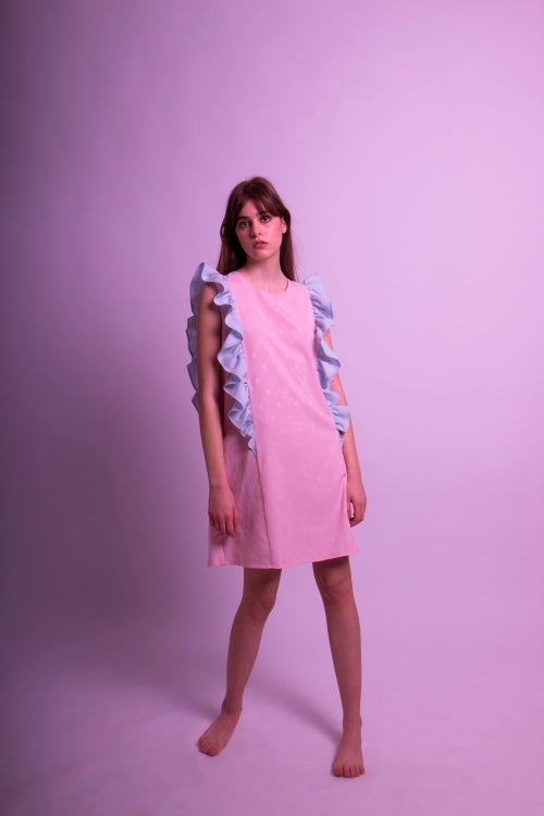Image of Pünkösdi Rózsa Peony Dress Pink
