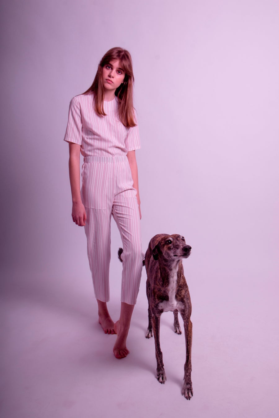 Image of Bay Top&Trouser set pink