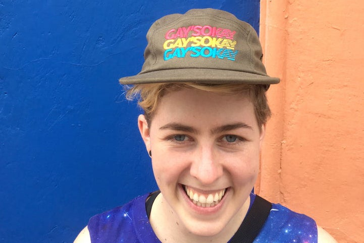 Image of GAY'S OKAY 5-PANEL CAP