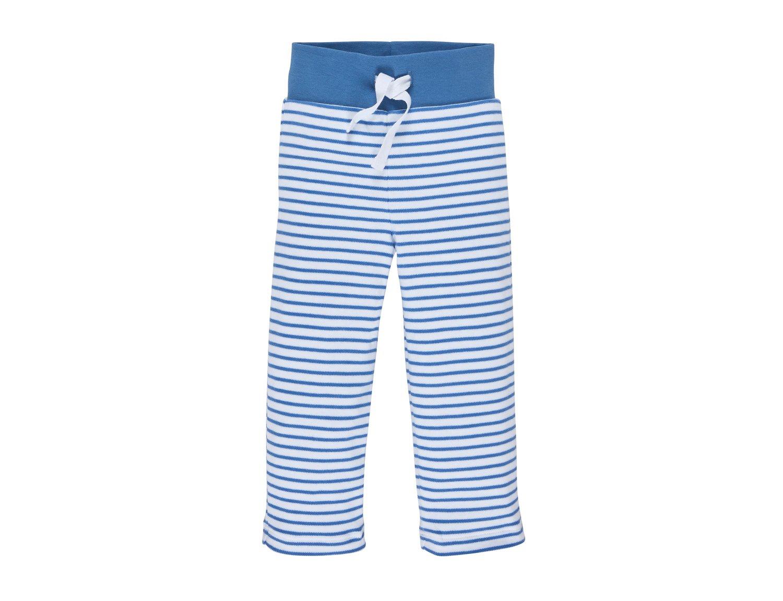 Image of SALE Sweat-Hose blau gestreift Art.519116