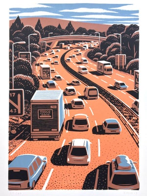 Image of Motorway Screen Print