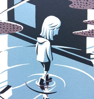 Image of Puddle - Screen Print