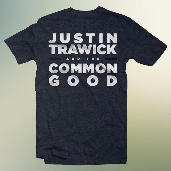 Image of Justin Trawick and The Common Good Band Shirt (Navy)