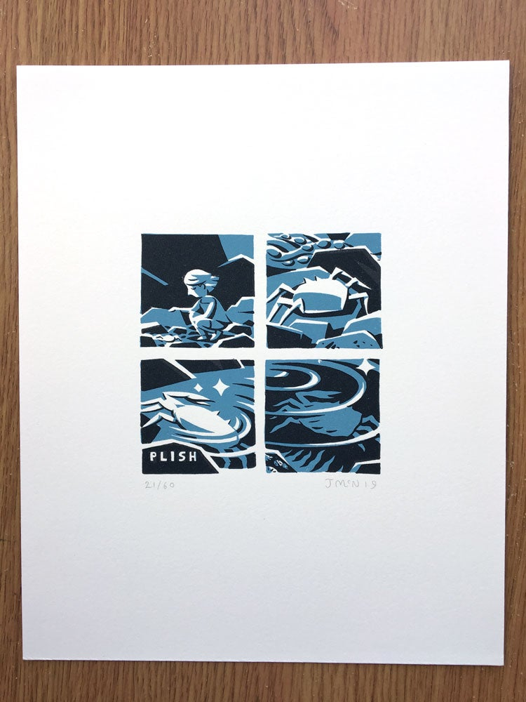 Image of Rockpool Screen Print