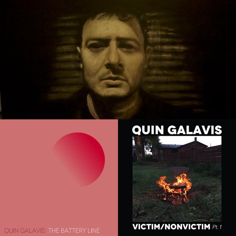 Image of Quin Galavis 3 album bundle