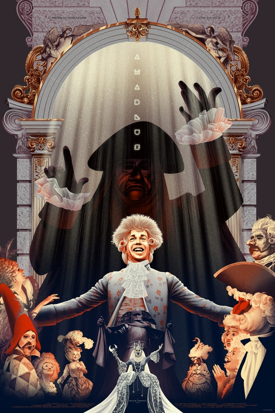 Image of AMADEUS (Variant Edition) by Kevin Tong