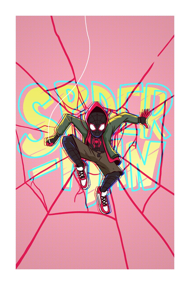 Image of Spider-Man Into the Spider-Verse