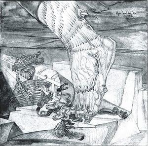 Image of Stanislav Szukalski: Invasion Print