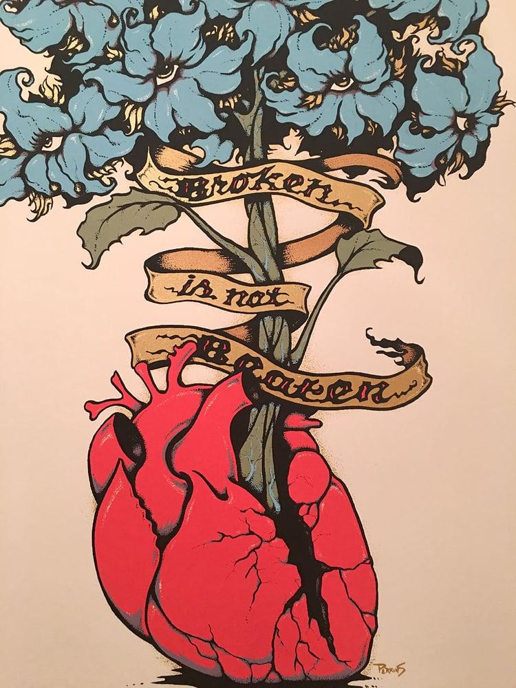 """Image of """"Broken Is Not Beaten"""""""