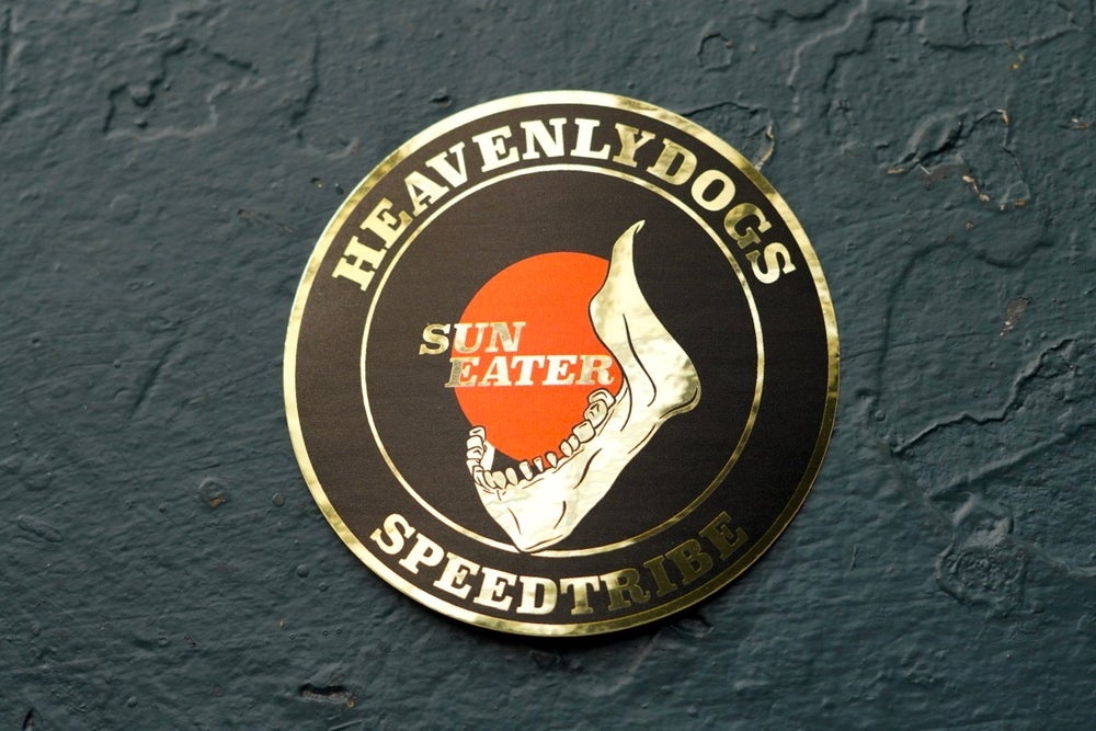 Image of SUNEATERS CREST [BLACK]