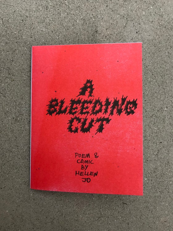 Image of A BLEEDING CUT