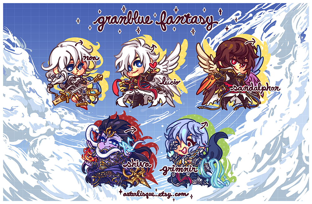 Image of GBF Key Rings Vol 3 (Primals)