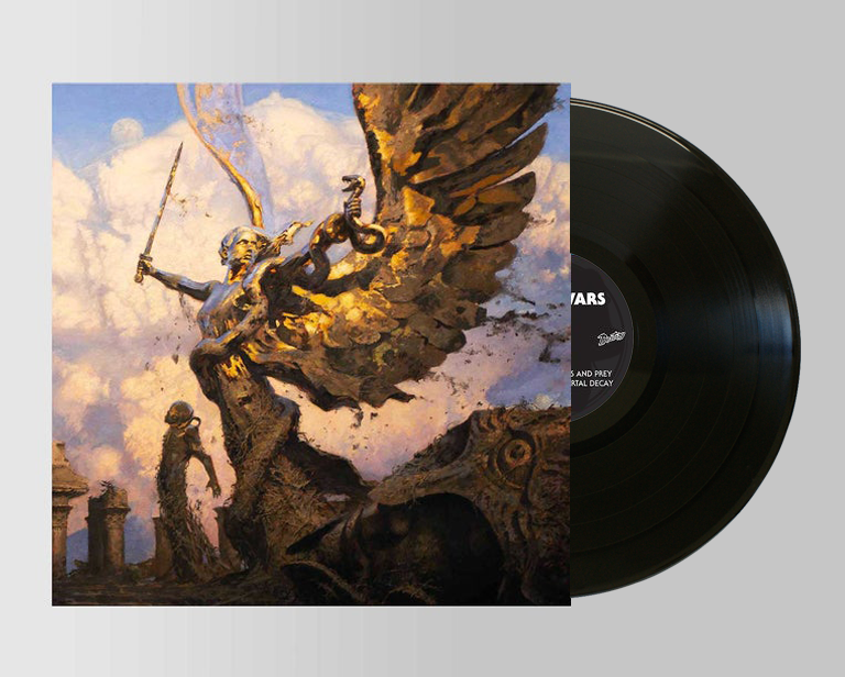 Image of IV VINYL BLACK (limited to 500 copies)