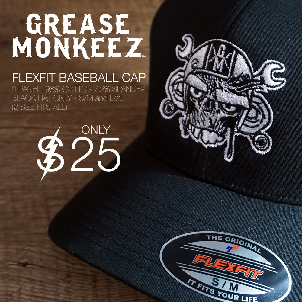 Image of Grease Monkeez - FLEXFIT HAT