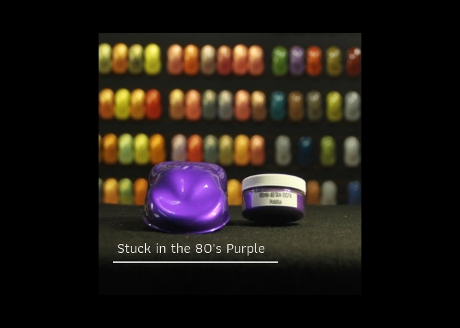 Image of Stuck in the 80's - Purple
