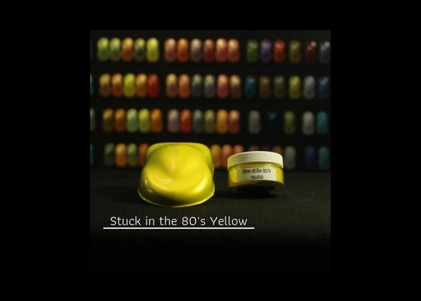 Image of Stuck in the 80's - Yellow