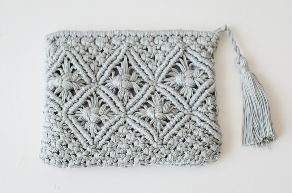 Image of Misti Crochet Clutch Purse