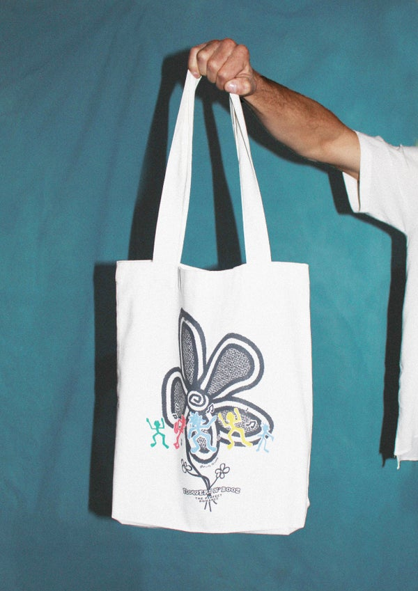 Image of FLOWERS N' BOOZ - Tote