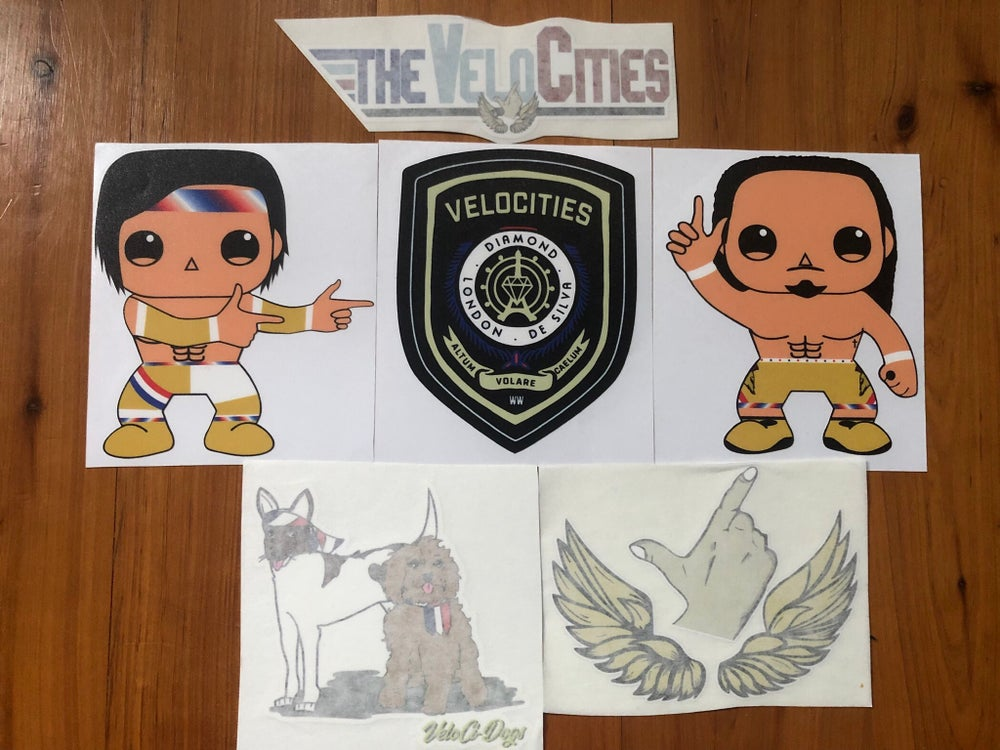 Image of VeloCities Stickers