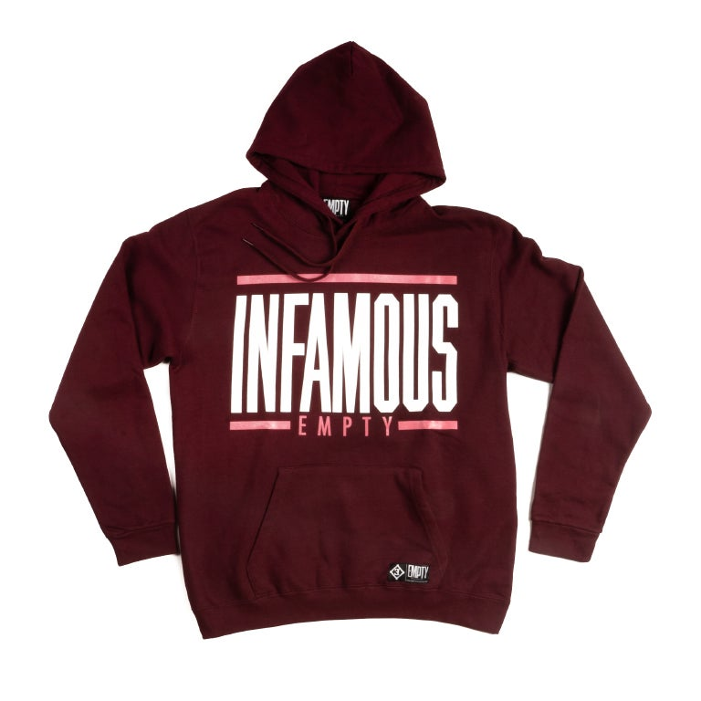 Image of INFAMOUS Empty hoodie