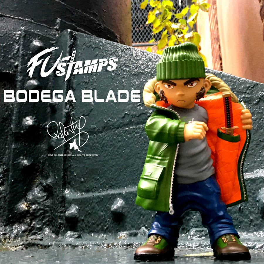 Image of FU-Stamps Bodega Blade Collectible Figure