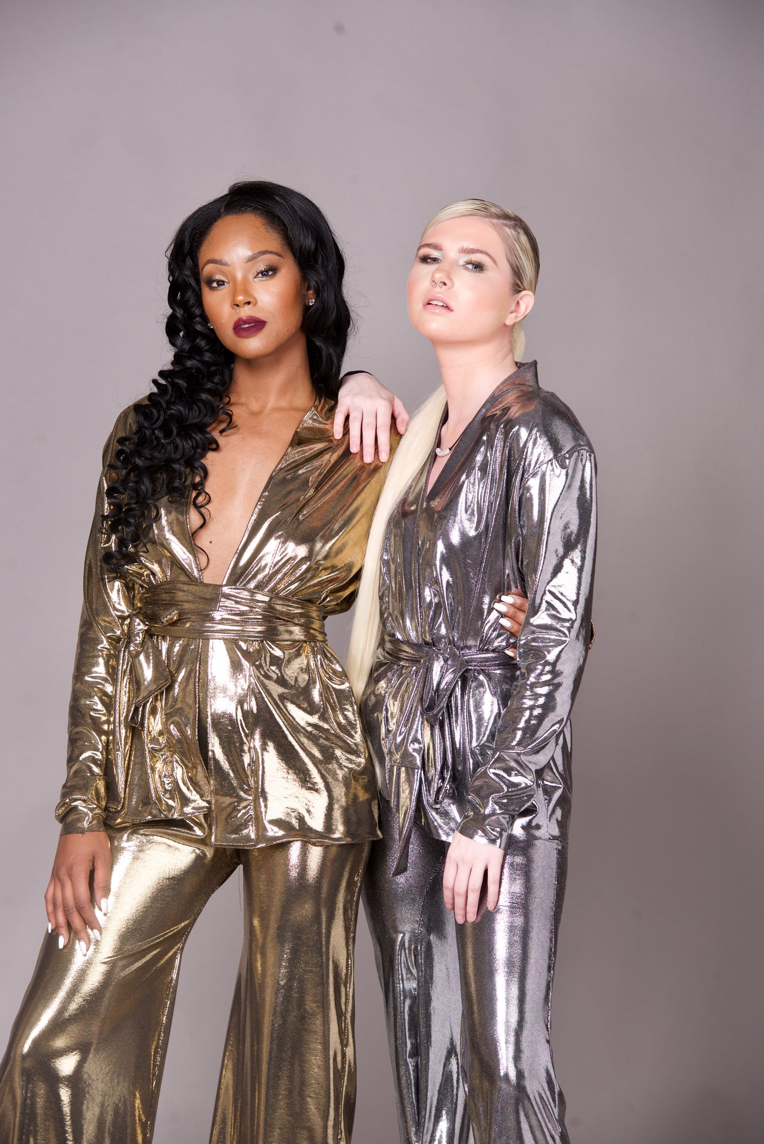 Image of Metallic Suit (Gold & Silver)