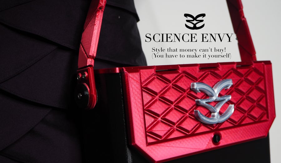 Image of 3D printed handbag (digital download of STL files)