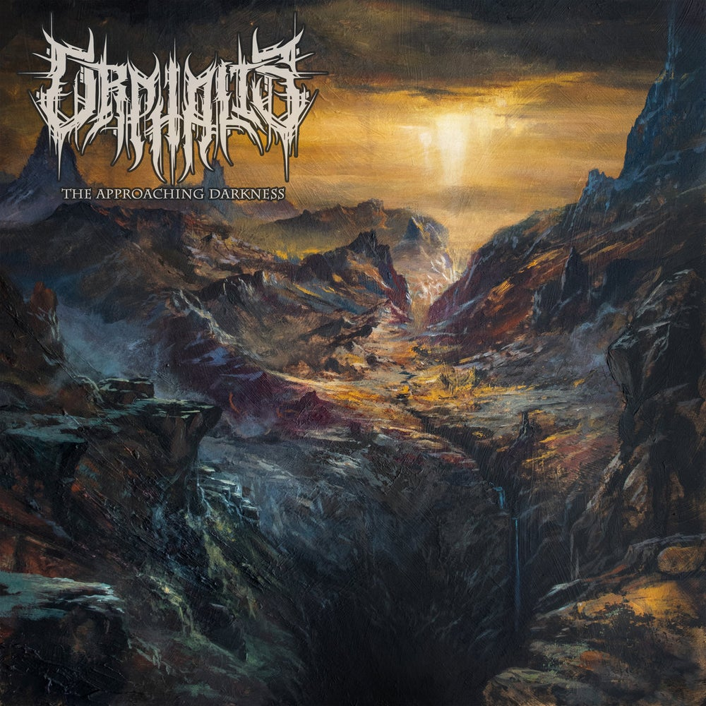 Image of ORPHALIS - The Approaching Darkness  CD