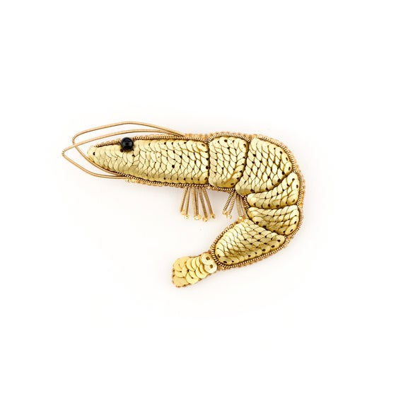 Image of SHRIMP Brooch