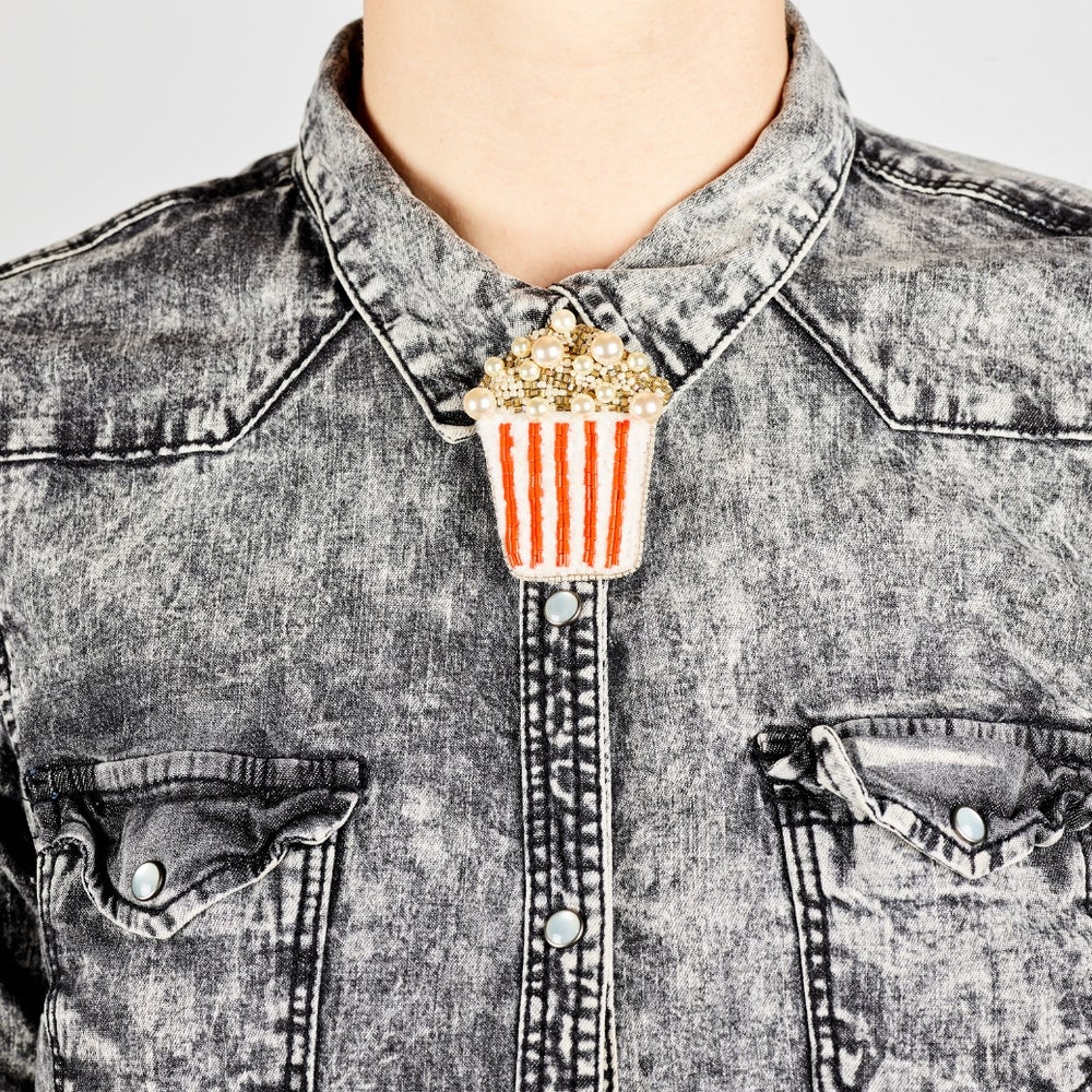 Image of POPCORN Brooch