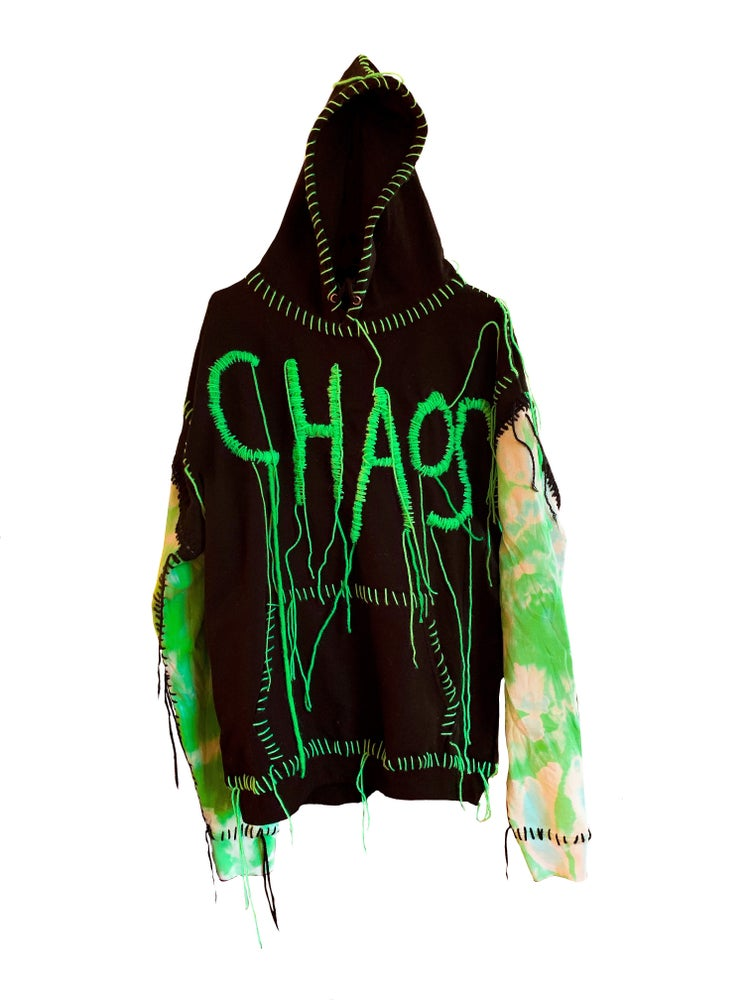 Image of CHAOS HOODIE LIMITED EDITION