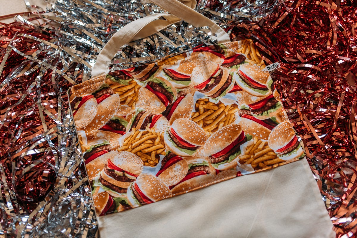 Image of Tote Bag Burger