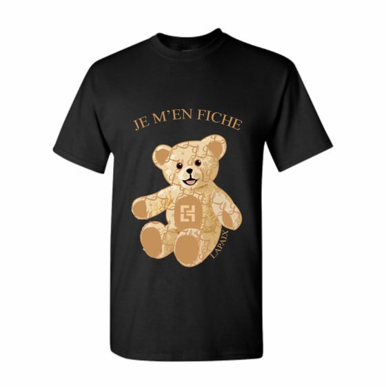 "Image of Lapaix ""IDC"" Bear Monogram T Shirt"
