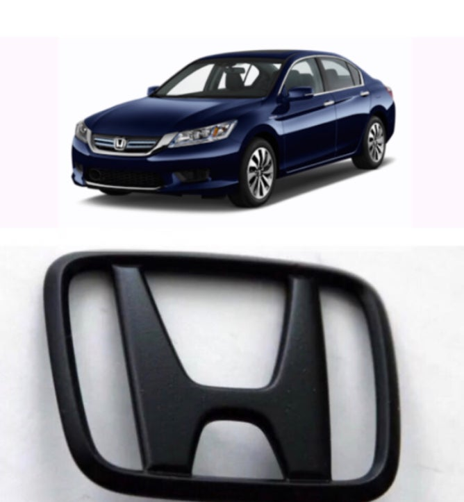 Image of 2013-2017 Honda Accord, full front/rear BLACKOUT emblem set (4)
