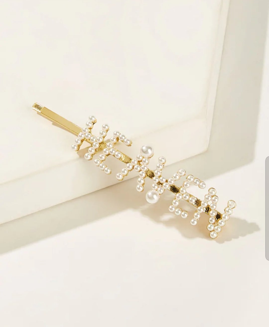 Gold Hair Pins