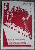 Image of THE DOMESTICS / MOLISMA TOUR POSTER (LIMITED!)