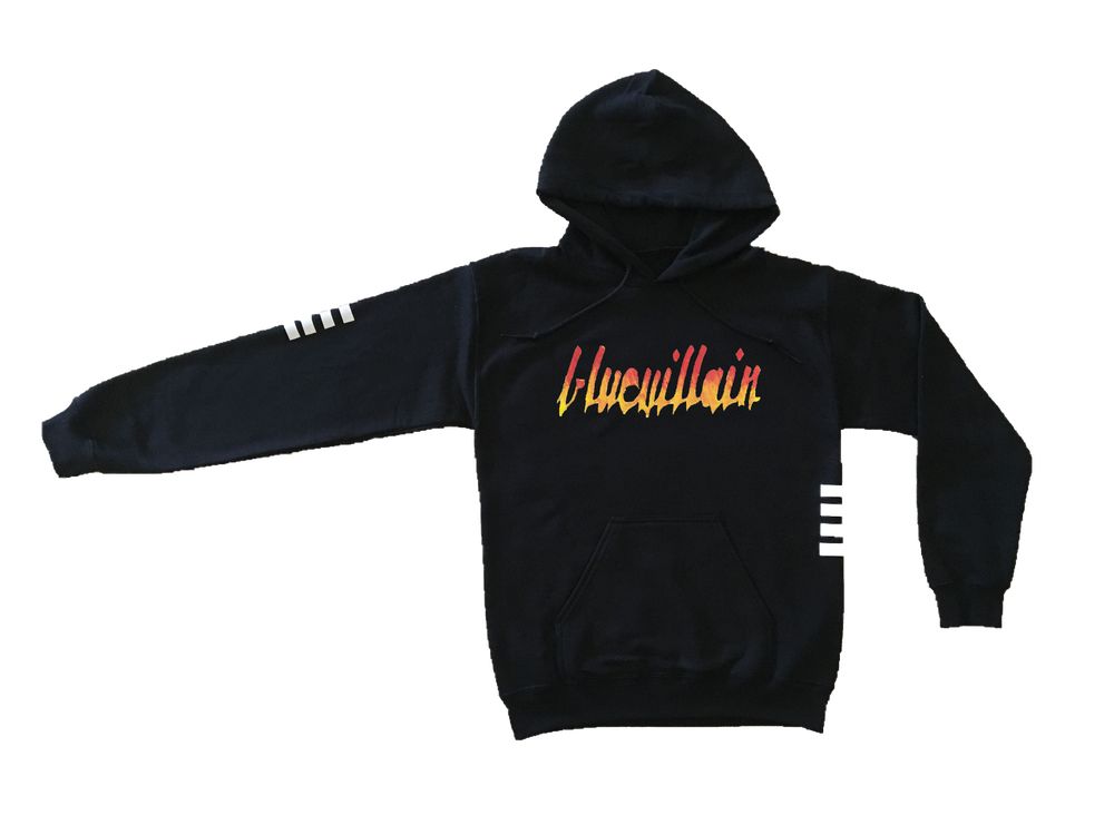Image of Fire Logo Hoodie