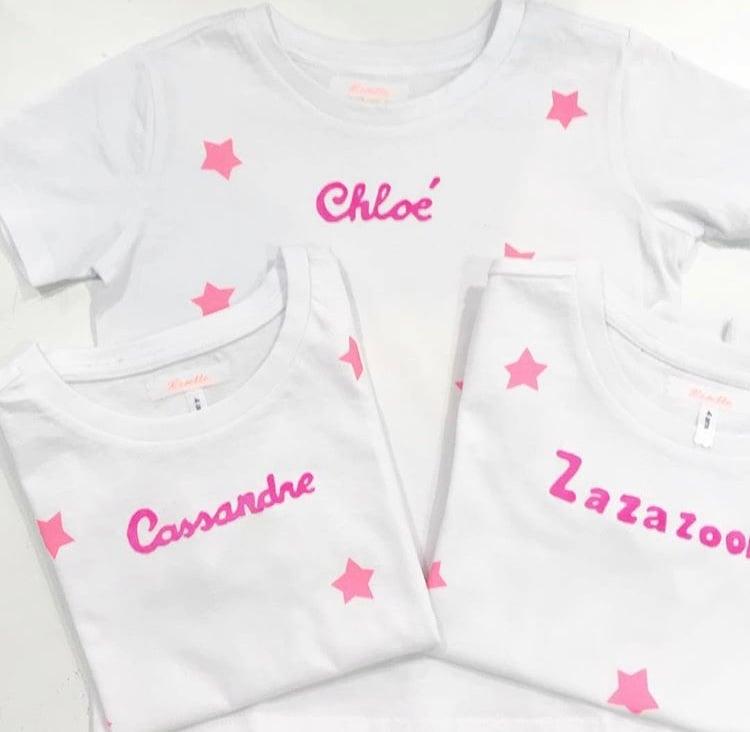 Image of Tee shirt enfant personnalisé - lisette