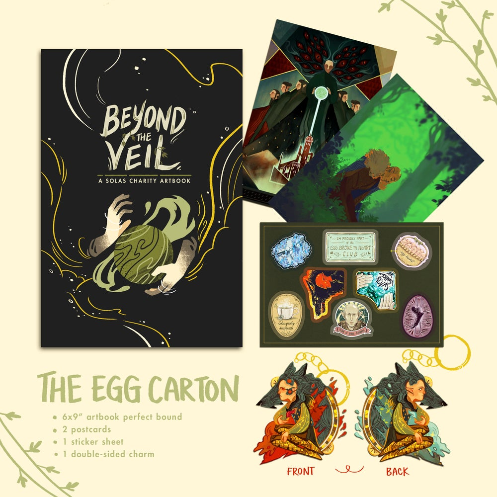 Image of [Extras] Beyond the Veil, The Egg Carton