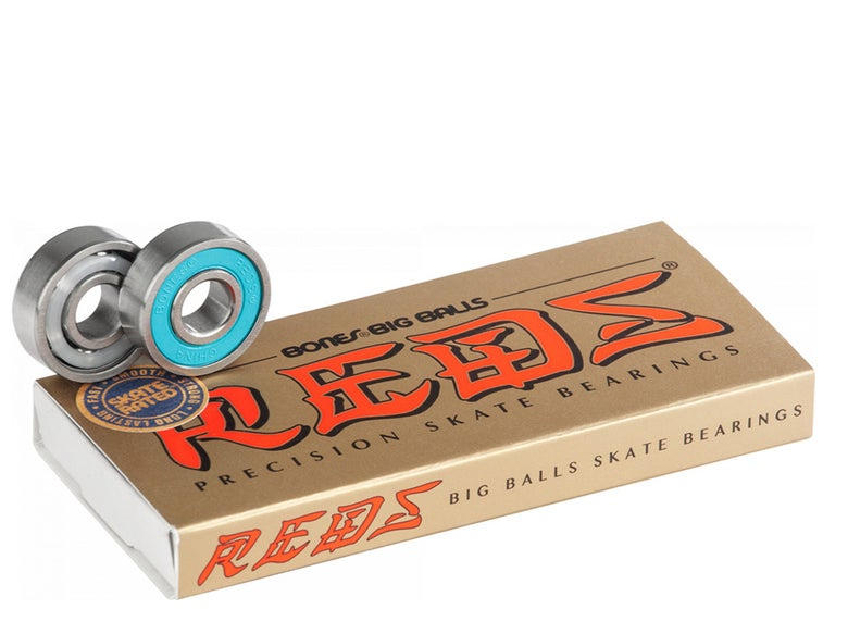 Image of BONES® BIG BALLS™ REDS® SKATEBOARD BEARINGS 8 PACK