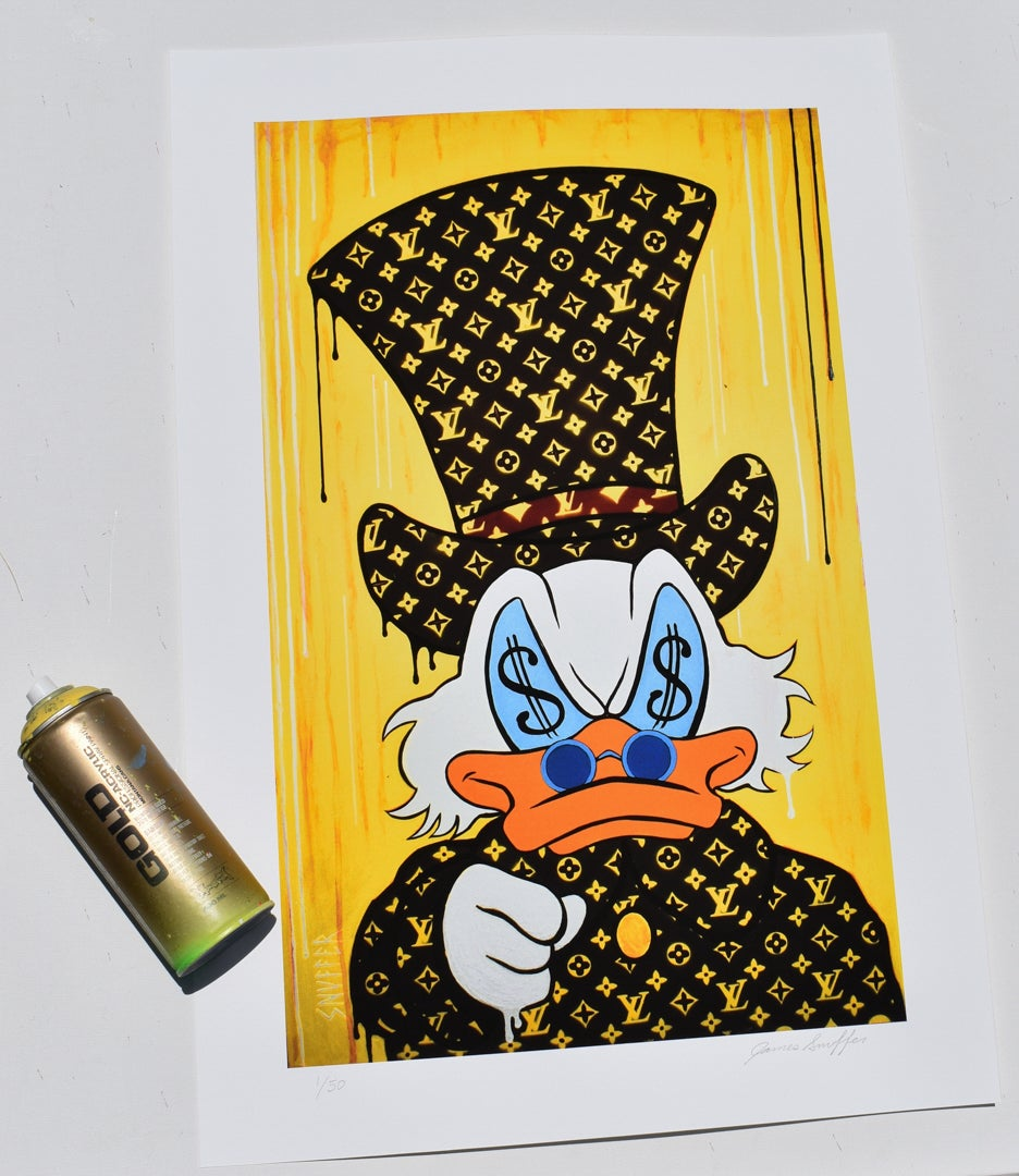 "Image of ""Vuitton McDuck Wants It All!"""